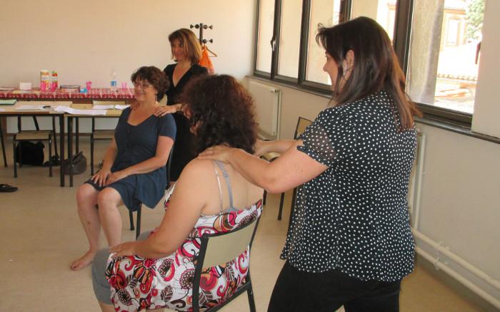 Mise en pratique du massage