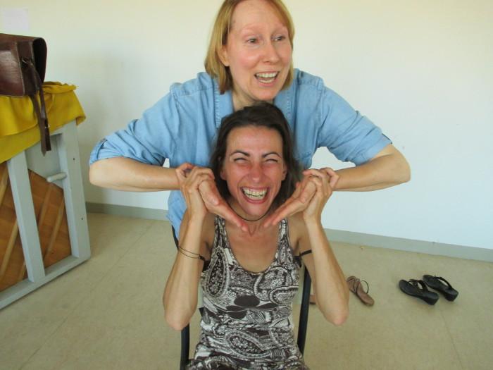 Massage et bonne humeur
